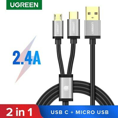UGREEN Micro USB Cable,1m USB A to Dual