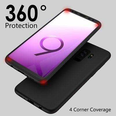 For Samsung Galaxy S9 S8 Plus S7 Edge Case Shockproof Rubber TPU Full Soft Cover