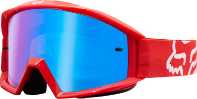 2018 Fox Main Youth Race Goggle Red