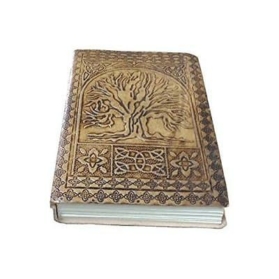 Handmade Tree of Life Embossed Leather Journal Leather Notebook Diary 7x5 New