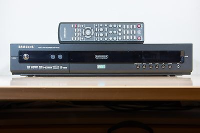 Samsung DVD-HR725 DVD Player/Recorder & 160Gb Hard Disk Recorder + Remote
