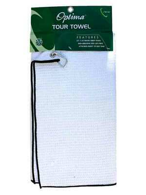 Optima Tour Towel White