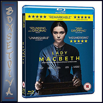 LADY MACBETH -  Florence Pugh & Cosmo Jarvis  **BRAND NEW BLU-RAY***