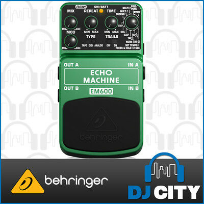 Behringer Ultimate Echo Machine EM600 Electric Guitar Effects Pedal Stompbox