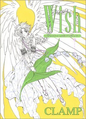 "USED JAPAN CLAMP Art book ""Wish Memorial Illust Collection"""