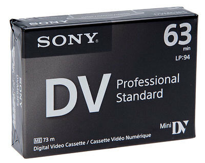 Sony Dvm63Ps 5 Pack