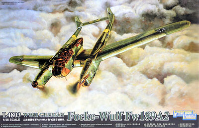 Avion de reconnaissance FOCKE WULF FW-189 A2 - KIT GREAT WALL HOBBY 1/48 n° 4803