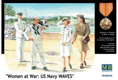 "Master Box MB3556 ""Woman at War: US Navy Waves. Scale 1:35Decoration item, not"