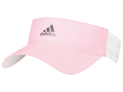 Adidas Ladies 3-Stripes Visor - Pink Glow