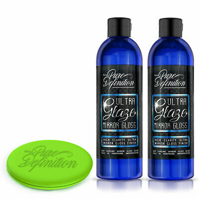 Ultra Glaze X 2 | Mirror Gloss Car Polish | Remove Paint Marks Pure Definition ®