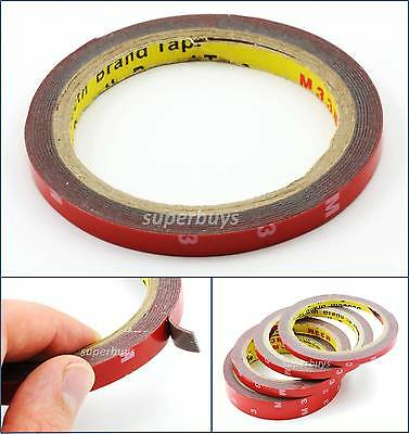 10mm 3M Automotive Car Vehicle Acrylic Foam Double Sided Adhesive Attaching Tape
