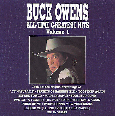 BUCK OWENS - CD - ALL-TIME GREATEST HITS - Volume 1