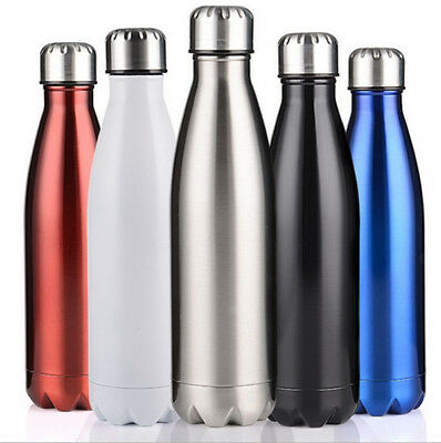 1000ML Water Flask Thermos Stainless Steel Double Wall Vacuum Insulated Bottle