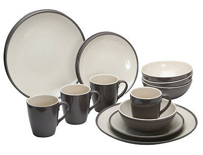 Caravan Kitchen Accessories - Quest Burlem 16pc Dinner Set