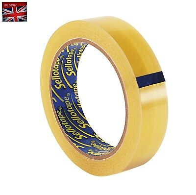 Sellotape Original Golden Sticky Tape / Strong and extra sticky adhesive tape /