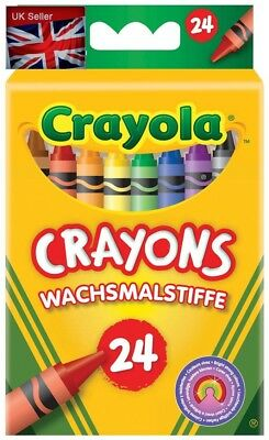 Crayola - Creative Leisure - 24 Wax Pencils