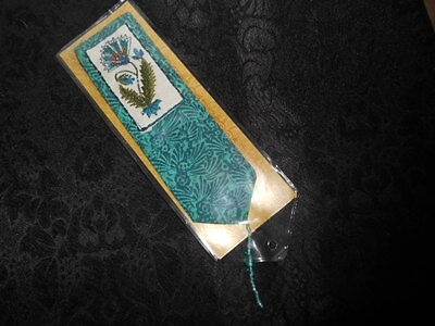 * New * Beautiful Hand Crafted Embroidered Beaded Book Marker