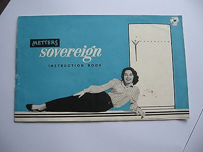 Metters Sovereign Instruction Book