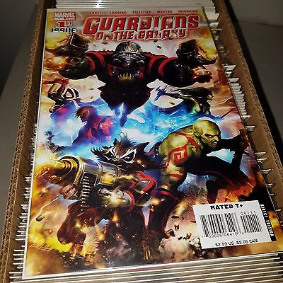 Guardians of the Galaxy (2008) Lot - Complete Series Set w/#s 1-25, Higher Grade