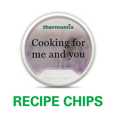 Cooking for Me and You TM5  Recipe Chip Thermomix
