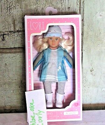 """Lori Doll by Our Generation SCARLETTE Small 6"""" Blonde Hair Blue Eyes Girl NEW"""