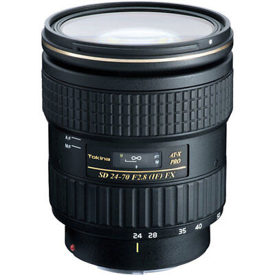 Tokina AT-X 24-70mm f/2.8 PRO FX for Canon EF ATXAF247FXC Stock in EU Nuevo