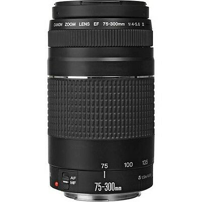Canon EF 75-300mm f/4.0-5.6 III Lens *Excellent + Condition*