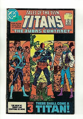 Tales of the Teen Titans #44 | 1st Appearance of Nightwing | Marvel Comics 1984