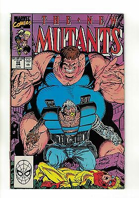 The New Mutants Vol. 1 - #88   2nd Appearance of Cable   Marvel Comics - 1990