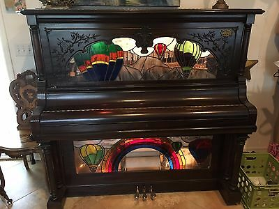 Mint Condition Nickelodeon Player Piano - Quarter Slot - Lots of Instruments
