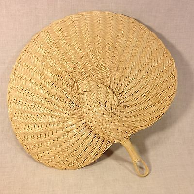 Palm Leaf Hand Woven Hand Fan