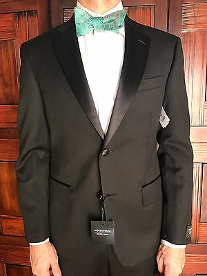 Brand New Nordstrom Men's Shop Classic Fit Wool Tuxedo Size 40S - Retail $429