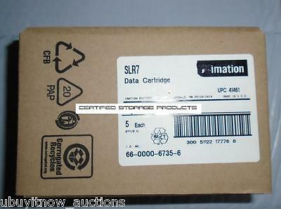 "20/PK New Imation SLR7 20GB/40GB QIC 5.25"" SLR Data Tape Cartridge 41461 MFG BOX"