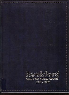 """vintage """"THE QUAKER OATS CO Rockford IL history Pet Food Story 1923 - 1987"""" RARE"""