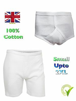 New Mens Underwear Pack Of 3 Mixed Blues Y Fronts Briefs Pants Sizes Medium To 5XL XX Large