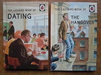 For Grown-Ups Series: The Ladybird Book Of The Hangover & Dating Vgc