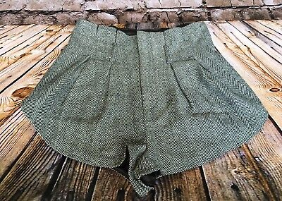 1d1adef66a Women's NWT Size 2 BDG High Waisted Pleated Black Tweed Like Shorts MSRP  $69.00