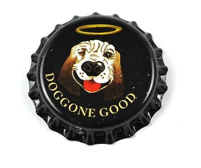 Doggone Good Soda Bier Kronkorken USA Bottle Cap Plastikdichtung Hund