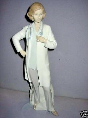 Female Doctor By Lladro Porcelain #8189