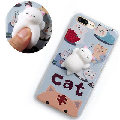Squishy Cat For Phone : Cute Little Girl Pattern Shockproof Soft TPU Phone Case Cover for iPhone 7Plus   CAD   USD1.25 ...