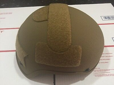 New Enhanced Combat Helmet Ceradyne Large Ballistic IIIA Special Forces High Cut