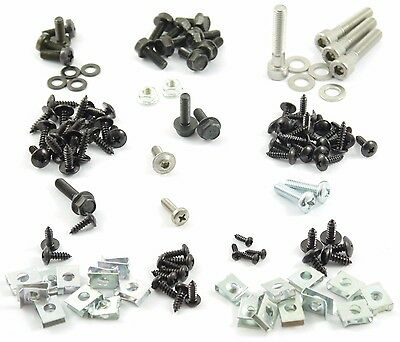 Full Set Cover Screw CPI Hussar+CLAMP / Clips - 111 Parts