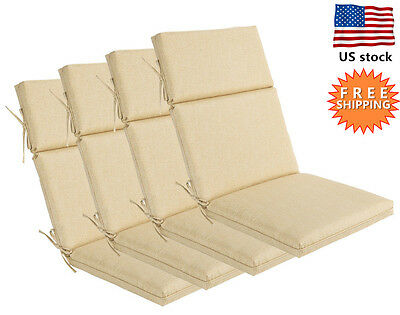45 X 21 5 High Back Outdoor Patio Chair Cushion Seat Back Key Lime