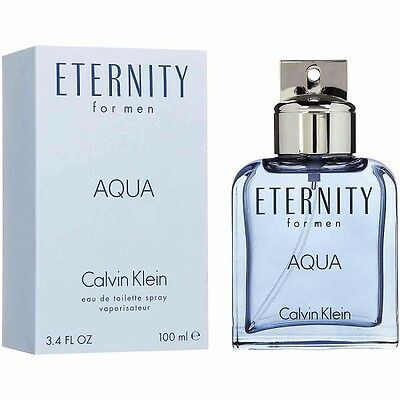 Eternity Aqua 100Ml Edt Spray For Men By Calvin Klein