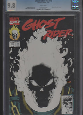 Ghost Rider V2 #15 Glow In The Dark Cover Cgc 9.8 White Marvel    Free Shipping!