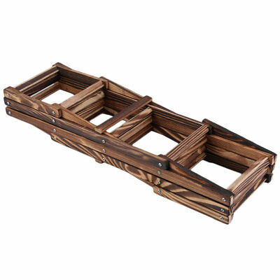 Wooden Red Wine Rack 3/6/10 Bottle Holder Mount Kitchen Bar Display Shelf JJB9