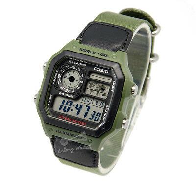 -Casio AE1200WHB-3B Digital Watch Brand New & 100% Authentic