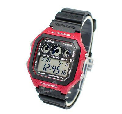 -Casio AE1300WH-4A Digital Watch Brand New & 100% Authentic