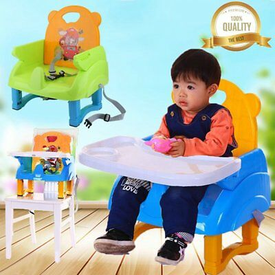 Portable Baby High Chair Infant Toddler Feeding Booster Folding Highchair USA TB