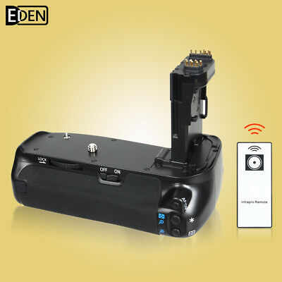 IR Remote Vertical Battery Grip BG-E14H for Canon EOS 70D DSLR Camera